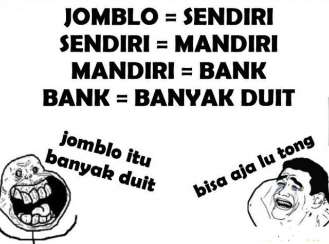 Meme Jomblo Lucu Dan Gokil