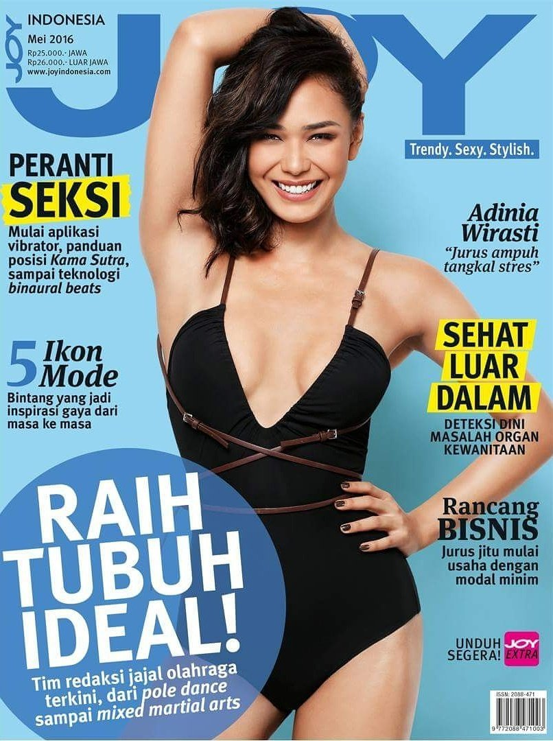 Indonesian Magazines On Twitter Adinia Wirasti Is Gracing A May Cover Of Joy