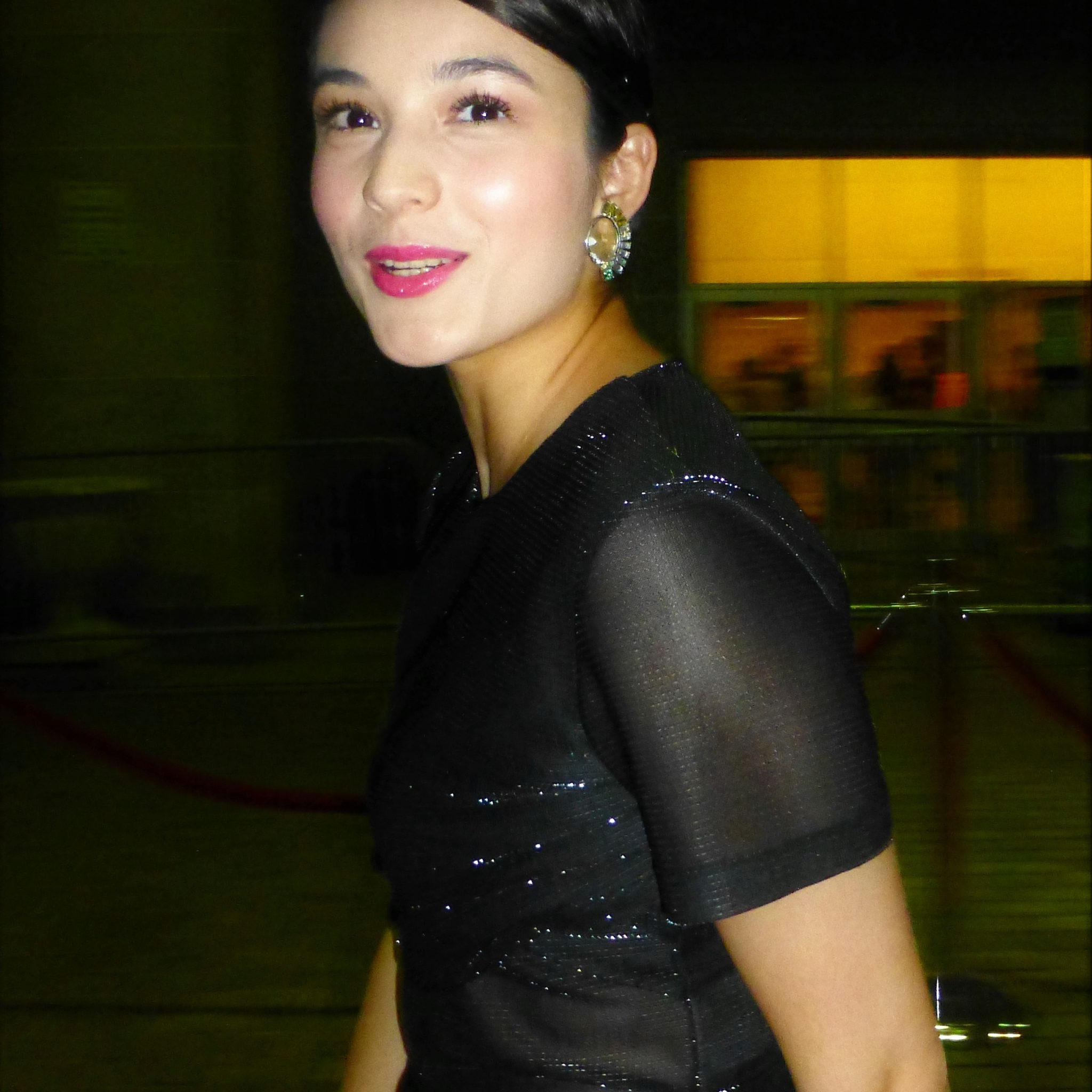 Chelsea Islan At The Premiere Of Heads At Tiff Jpg