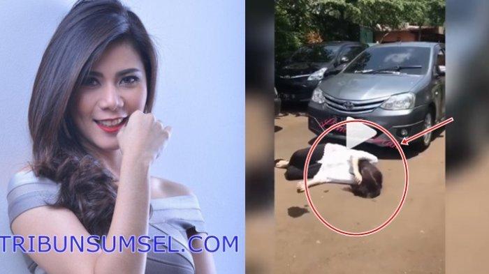 Video Detik Detik Cynthia Ramlan Terlindas Mobil Usai Alami Kecelakaan Syuting
