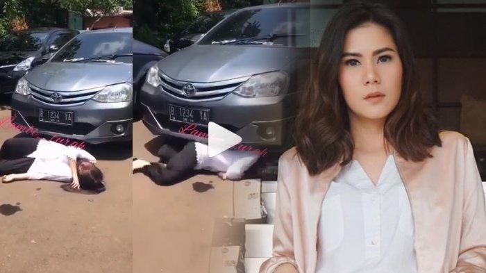 Video Artis Cantik Cynthia Ramlan Terlindas Mobil Saat Syuting Sinetron Ngeri Dan Jadi Viral Surya Malang