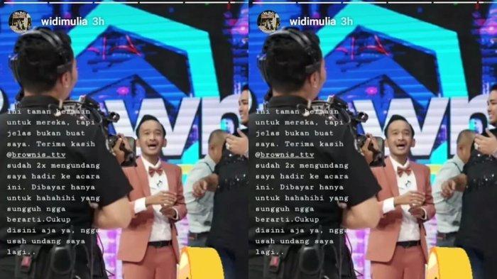 Ig Story Widi Mulia