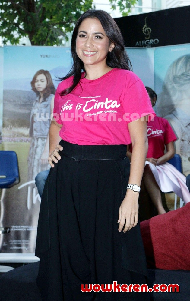 Foto Aida Nurmala Di Press Screening Film This Is Cinta
