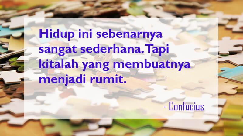Kata Kata Mutiara Kehidupan Confucius