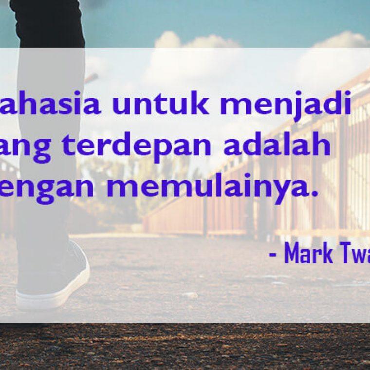 Kata Kata Mutiara Kehidupan Mark Twain