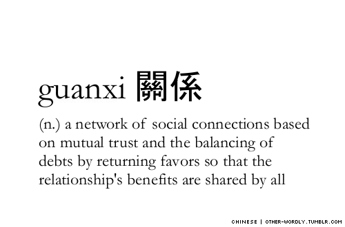 A Network Of Social Connections Based On Mutual Trust And The Balancing Of Debts By Returning Favors So That The Relationships Benefits Are Shared By All