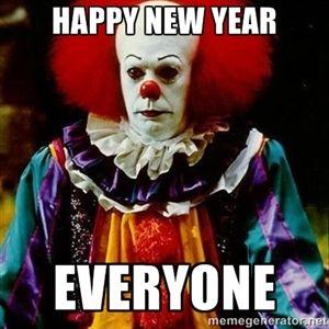 Happy New Year Everyone It Clown Stephen King