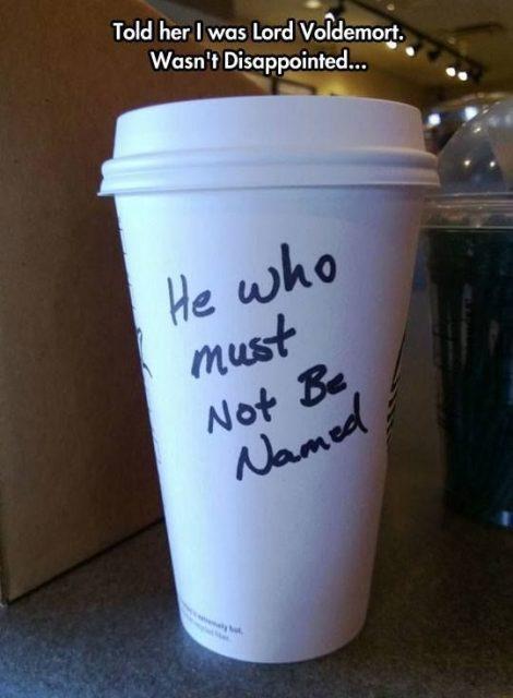 Starbucks Worst Name Fails Ever  E  A Of   E  A Boredbug