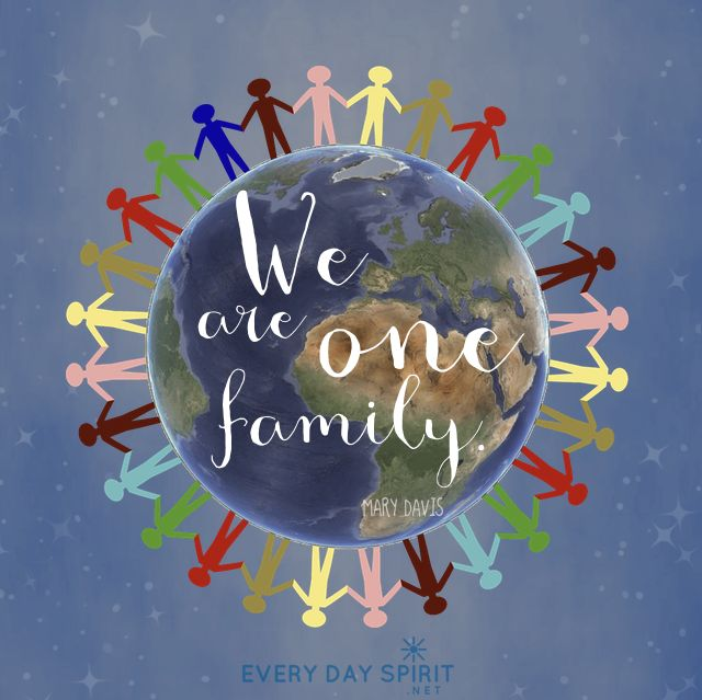 One Peace One Love One Family Unity Peace For The App