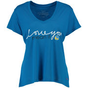 Womens Golden State Warriors Peace Love World Royal Love You Mean It Mini Mimi V
