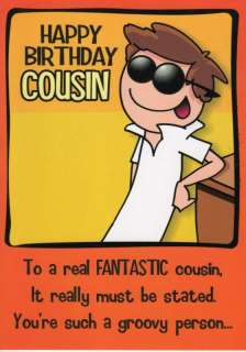 Funny Birthday Cards For Cousins Image Collections Birthday Cards Funny Greeting Cards Fantastic Cousin Birthday Card
