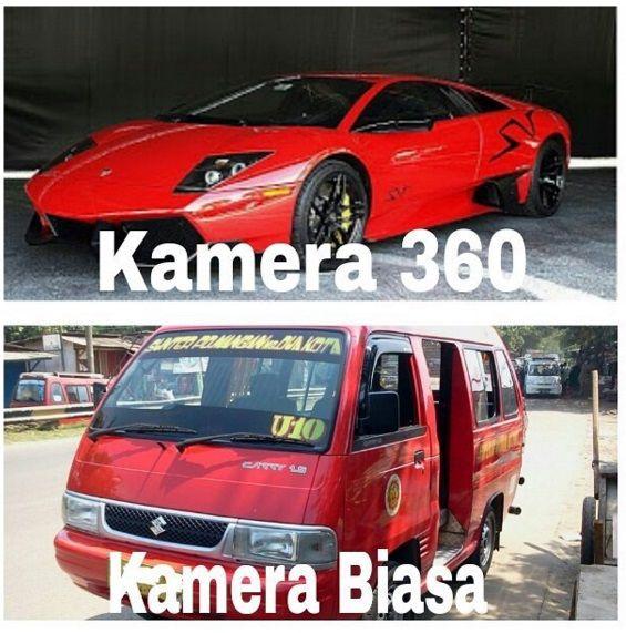 Kalo Angkot Difoto Pake Camera