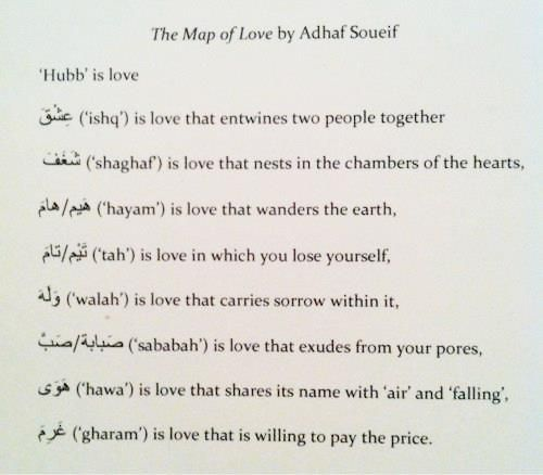 Too Many Words For The Word Love Hubb In Arabic