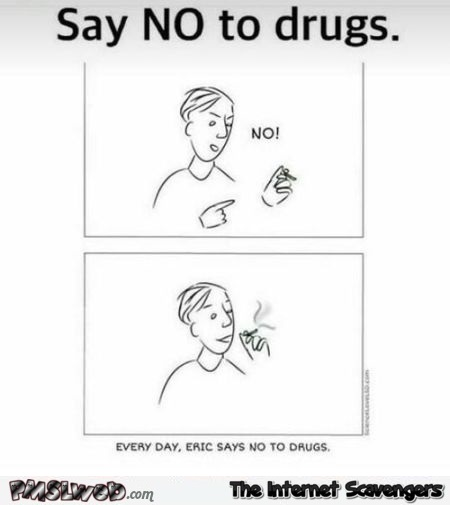 Say No To Drugs Funny Comic
