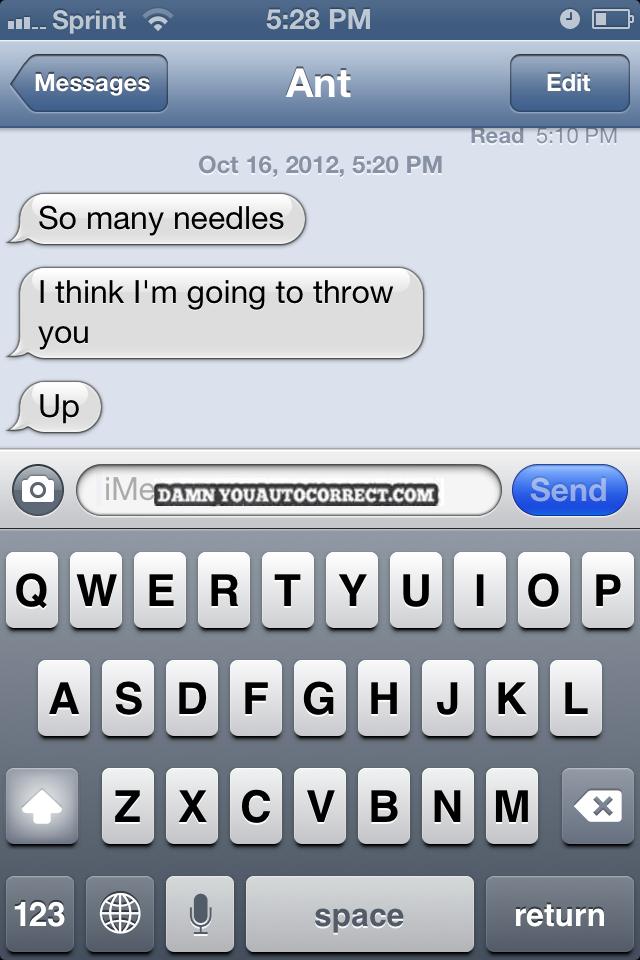 Funny Auto Correct Texts Say No To Drugs