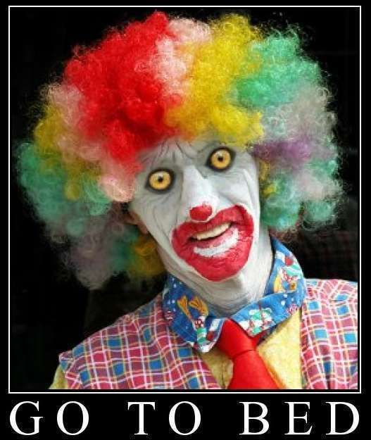 Clown Pictures With Captions Funny And Scary Clowns