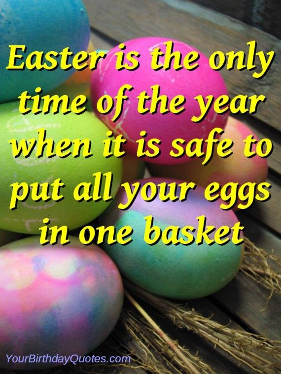 Easter Quotes Funny Sayings Eggs Basket Happy Easter Funny Quotes Sayings