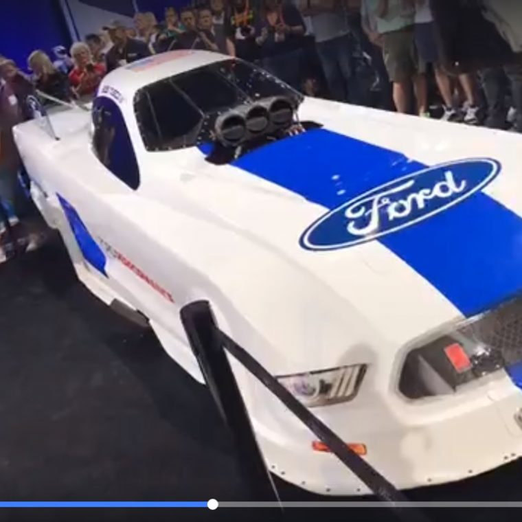 They Just Announced Sema That A Funny Car With Ford Logos On Will Be Campaigned By The Tasca Family Next Year