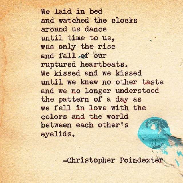Worlds Christopher Poindexter Worlds Christopher Poindexter Love Poem By Oriza