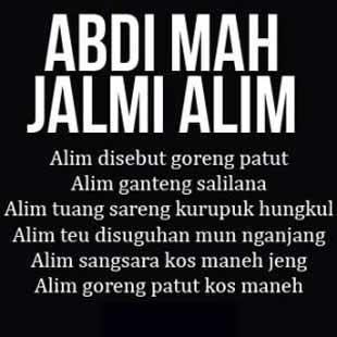 Dp Bbm Bahasa Sunda Lucu Pikaseurieun