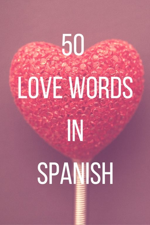 Love Words In Spanish