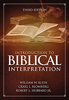 Introduction To Biblical Interpretation Third Edition