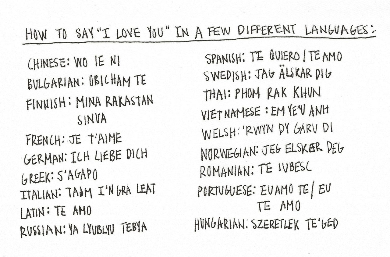 We Love To Hear The Words So Why Not Learn To Say Them In A Few Different Languages