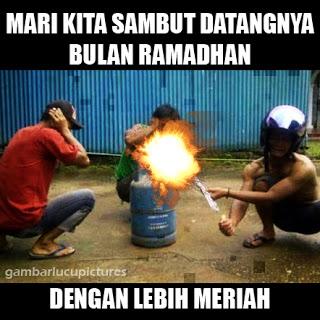 Meme Lucu Menyambut Puasa Ramadhan