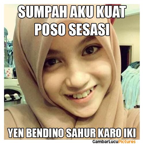 Meme Ramadhan Bikin Puasa Tambah Happy
