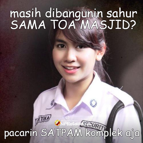 Meme Lucu Puasa Sahur Edisi Nyindir Cowok Ayo Ketawa Gudangnya Humor Indonesia