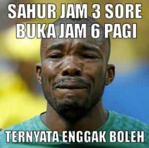 Meme Lucu Puasa Ramadhan Kocak Sahur Buka Ramadan