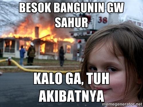 Meme Lucu Sahur
