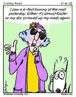 Maxine Easter Meds