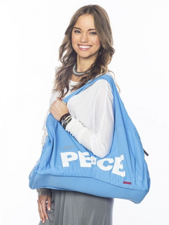 Give Your Other Bags The Sack And Promote The I Am Love Capri Blue Bag As Your Go To Carry All