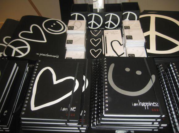 Peace Love World Merchandise