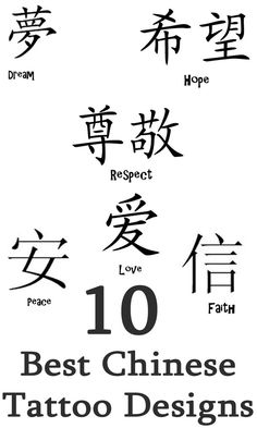 Chinese Tattoos And Meanings For Guys Google Search
