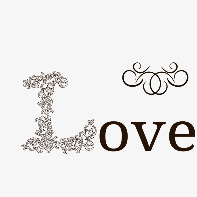 Love Word Art Vector Love Wordart Love Font Design Love Vector Png And