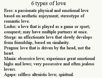 The Greek Language Distinguishes At Least Four Different Ways As To How The Word Love Is