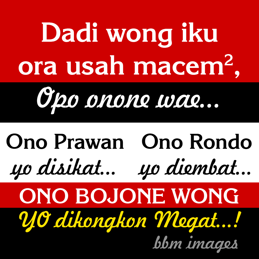 Dp Bbm Lucu Gokil Bahasa Jawa Paling Populer Kochie Frog