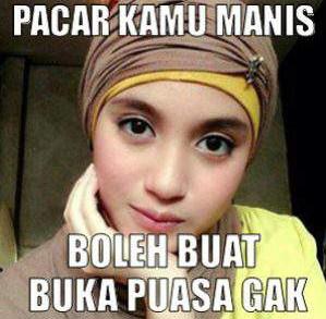 Dp Bbm Meme Lucu Ramadhan Pacar Manis Buat Buka Puasa Terbaru X