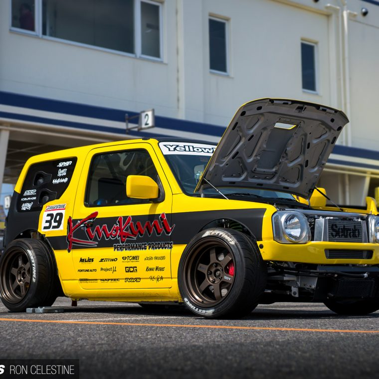 Yellow Bullet The Time Attacking Suzuki Jimny