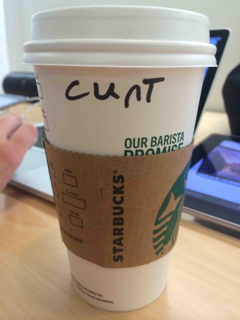 This Is How The Starbucks Person Spelled My Name
