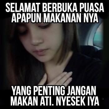 Dp Bbm Berbuka Puasa Gokil