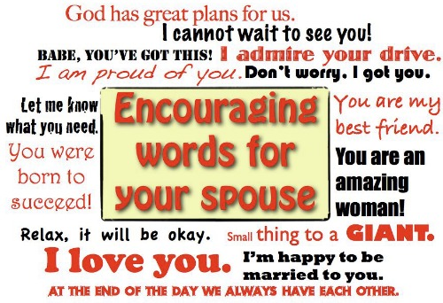 Encouraging Words Your Wife Loves To Hear Jackiebledsoe Com Growing Family Leaders