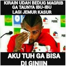 Meme Lucu Buka Puasa Ramadhan Pemain Bola