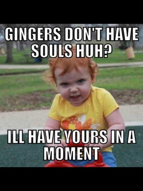 Ginger Jokes Dirty