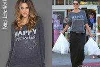 Who Halle Berry Wearing A Peace Love World