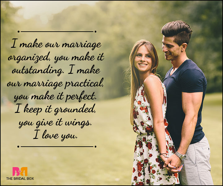 Husband And Wife Love Quotes You And I