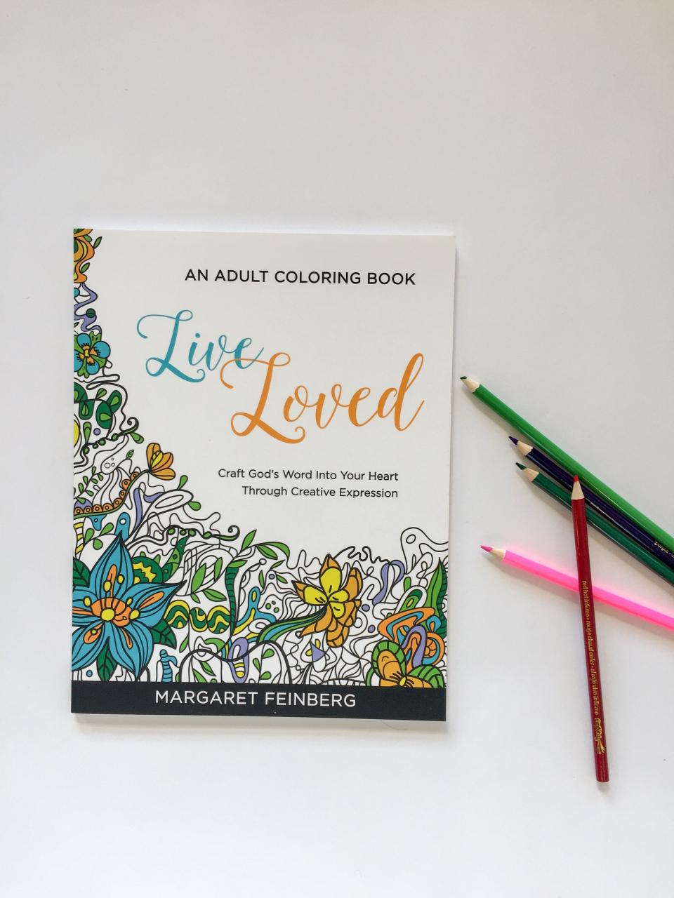 Live Loved An Coloring Book