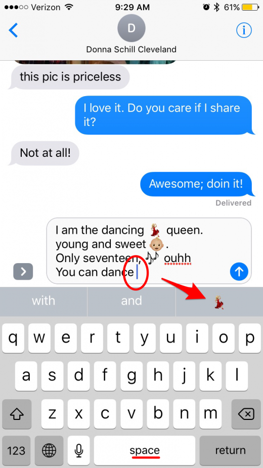 Thats How You Can Use Predictive Text To Add Emojis To Your Text Messages Without Replacing The Words Of The Text